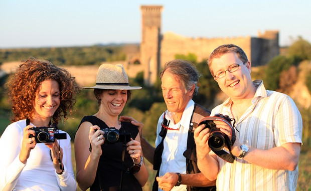 group from our photography workshop at Vulci