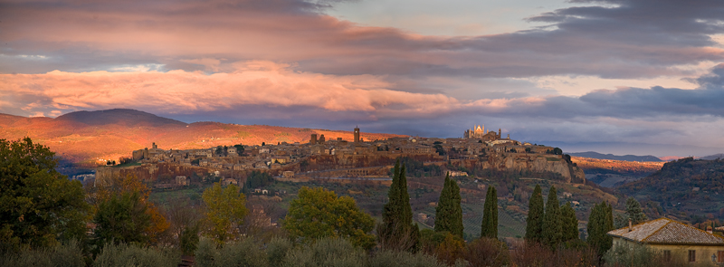 Orvieto December dusk