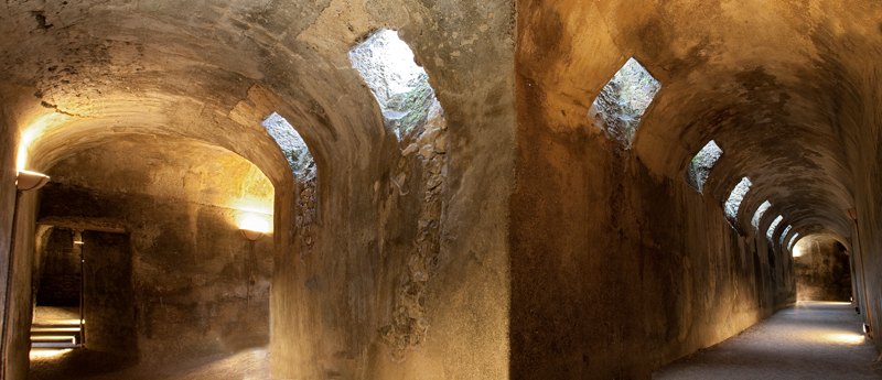 Vulci crypt under domus