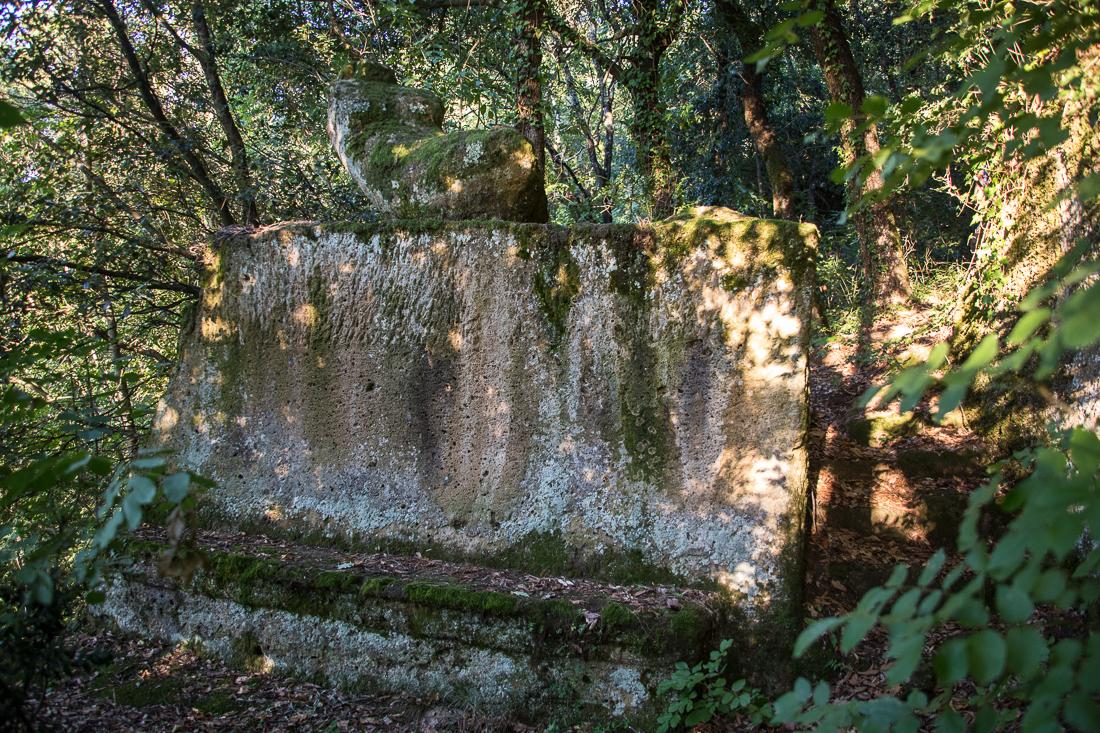 Orsini Park,Pitigliano