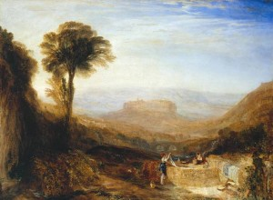 Orvieto, J.M.W.Turner