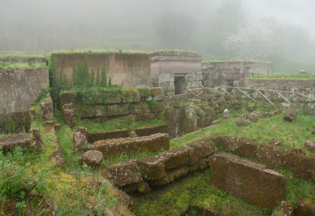 Orvieto, the Crocefisso cemetery that impressed Freud so much belonged to Sig Mancini who sold him Etruscan antiquities