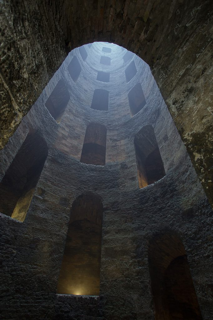 St Patrick's Well from the bottom looking up