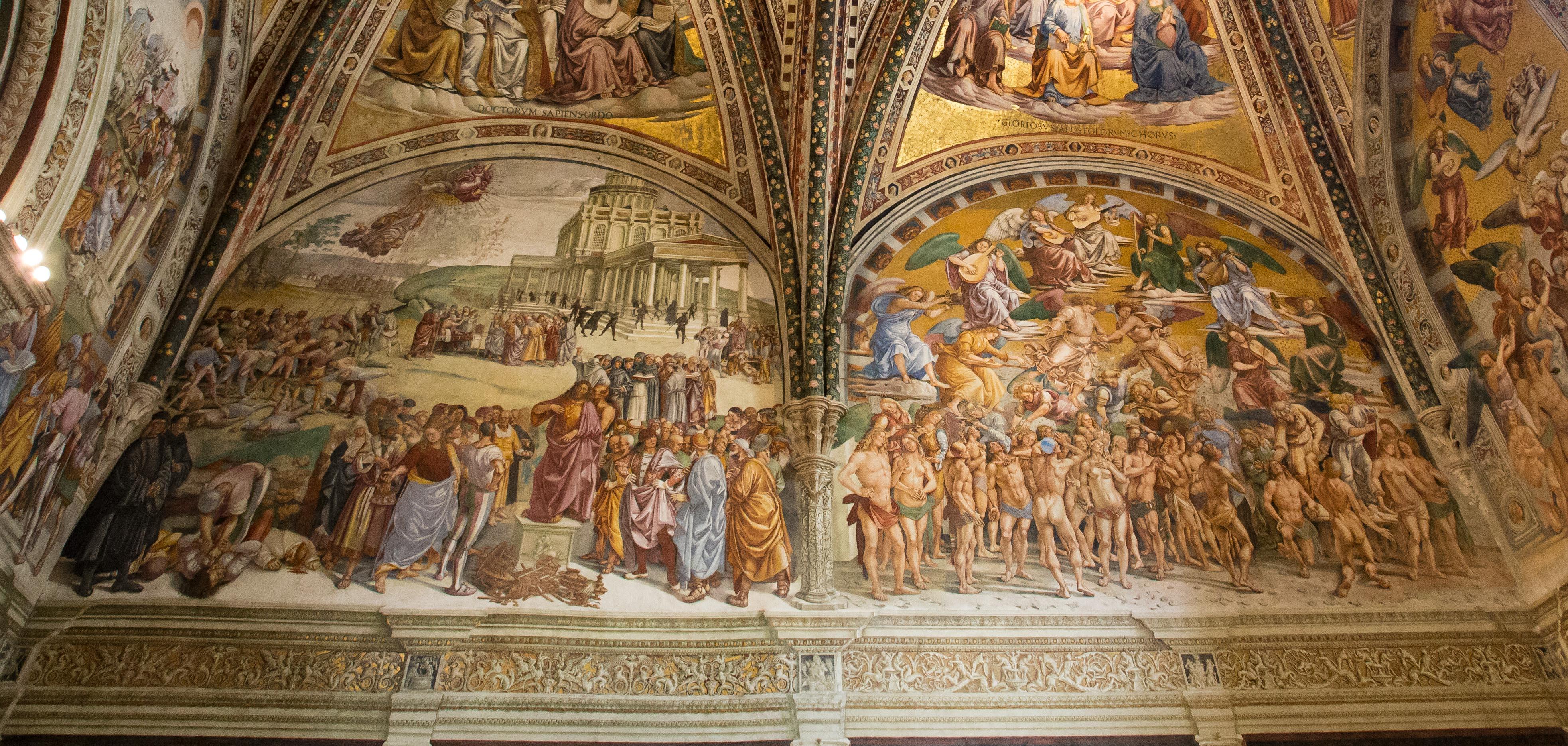 Signorelli, Antichrist and Paradise
