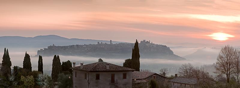 Orvieto Umbria April Dawn