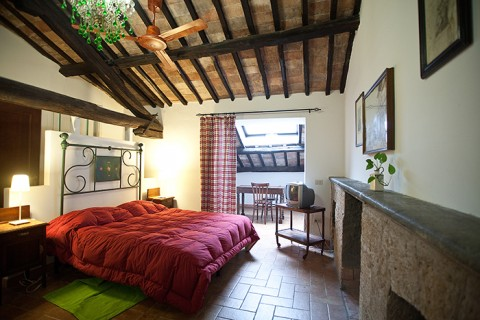 La soffitta bed and breakfast in Orvietp