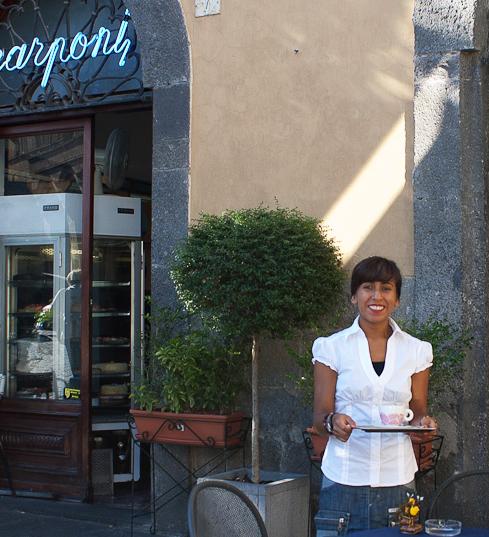 Café Scarponi, Orvieto