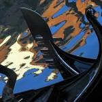 gondolas reflections