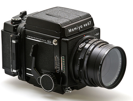 Mamiya RB 67 medium format film camera