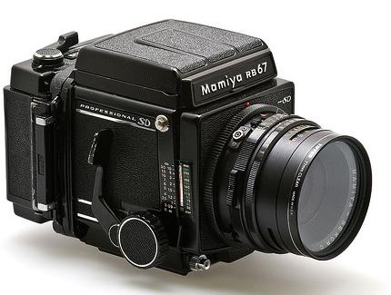 Mamiya RB 67 medium format film camera