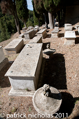 Pitigliano Jewish cemetery