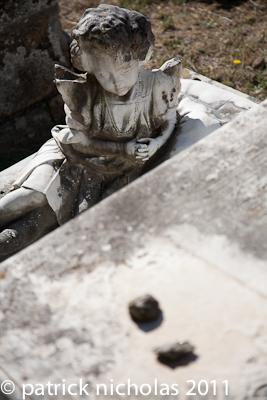 Jewish Cemetery Pitigliano child's grave