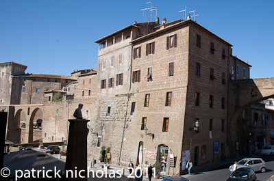 Pitigliano, Jewish quarter