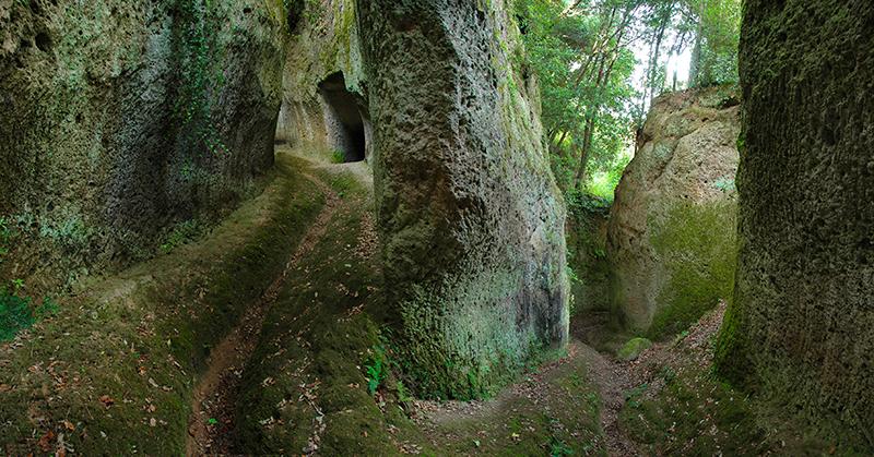 Sorano Via Cava, Sacred Way