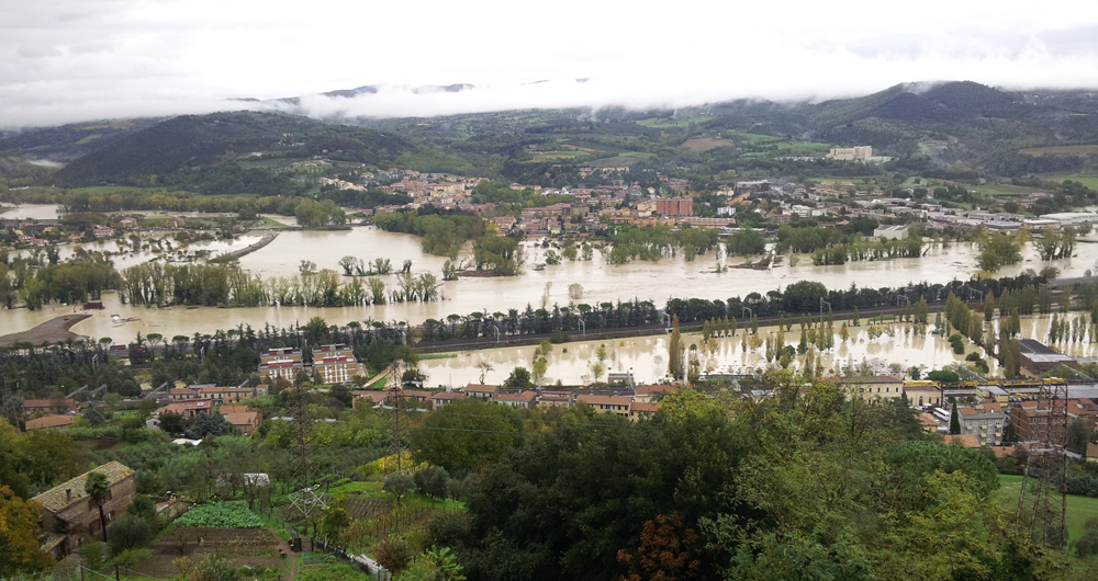 flooded Orvieto