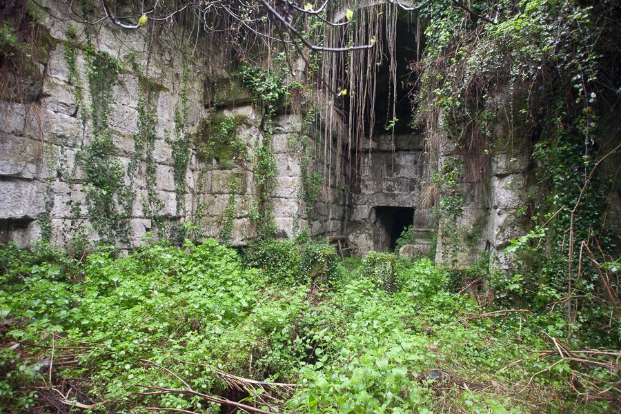 Roman tunnel Lake Albano