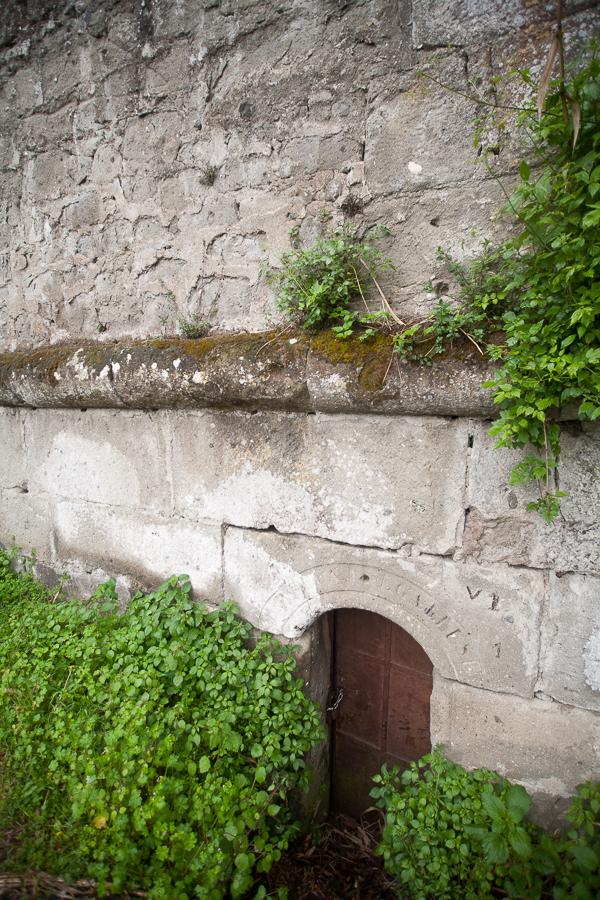 Roman tunnel entrance