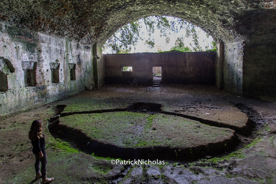 Diana baths Castelgandolfo