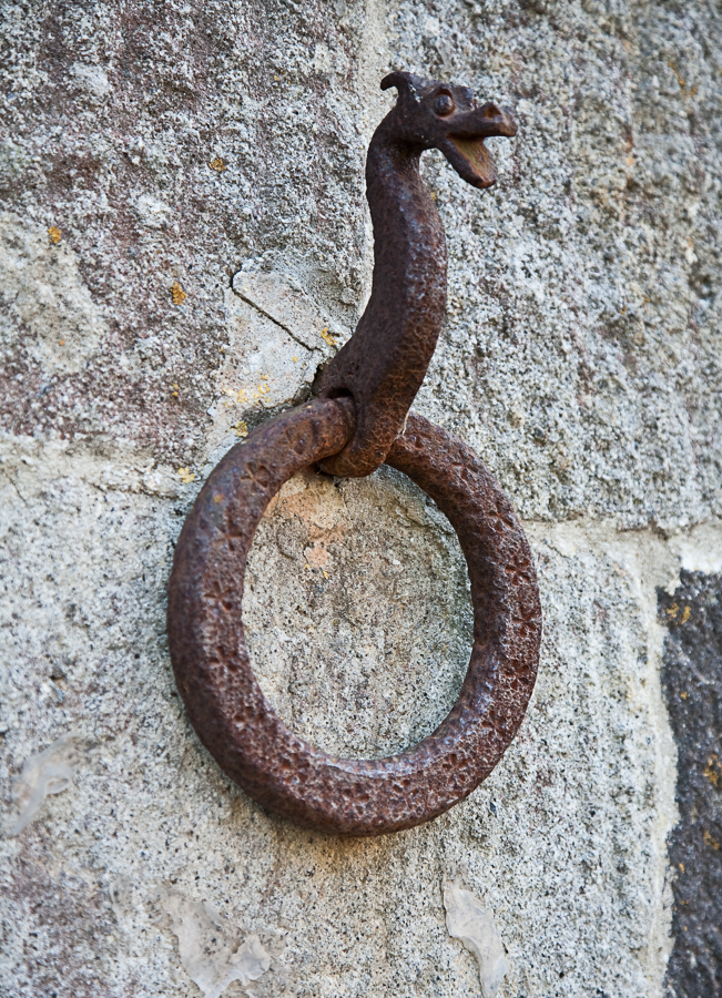 horse hitching ring
