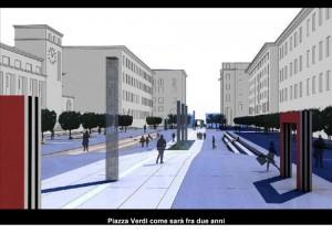 Daniel Buren project La Spezia