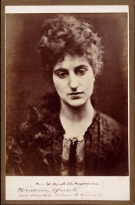 Christina Spartali, Julia Margaret Cameron about the time she met Cahen