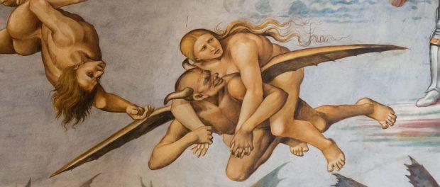 Flying Devil carries prostitute