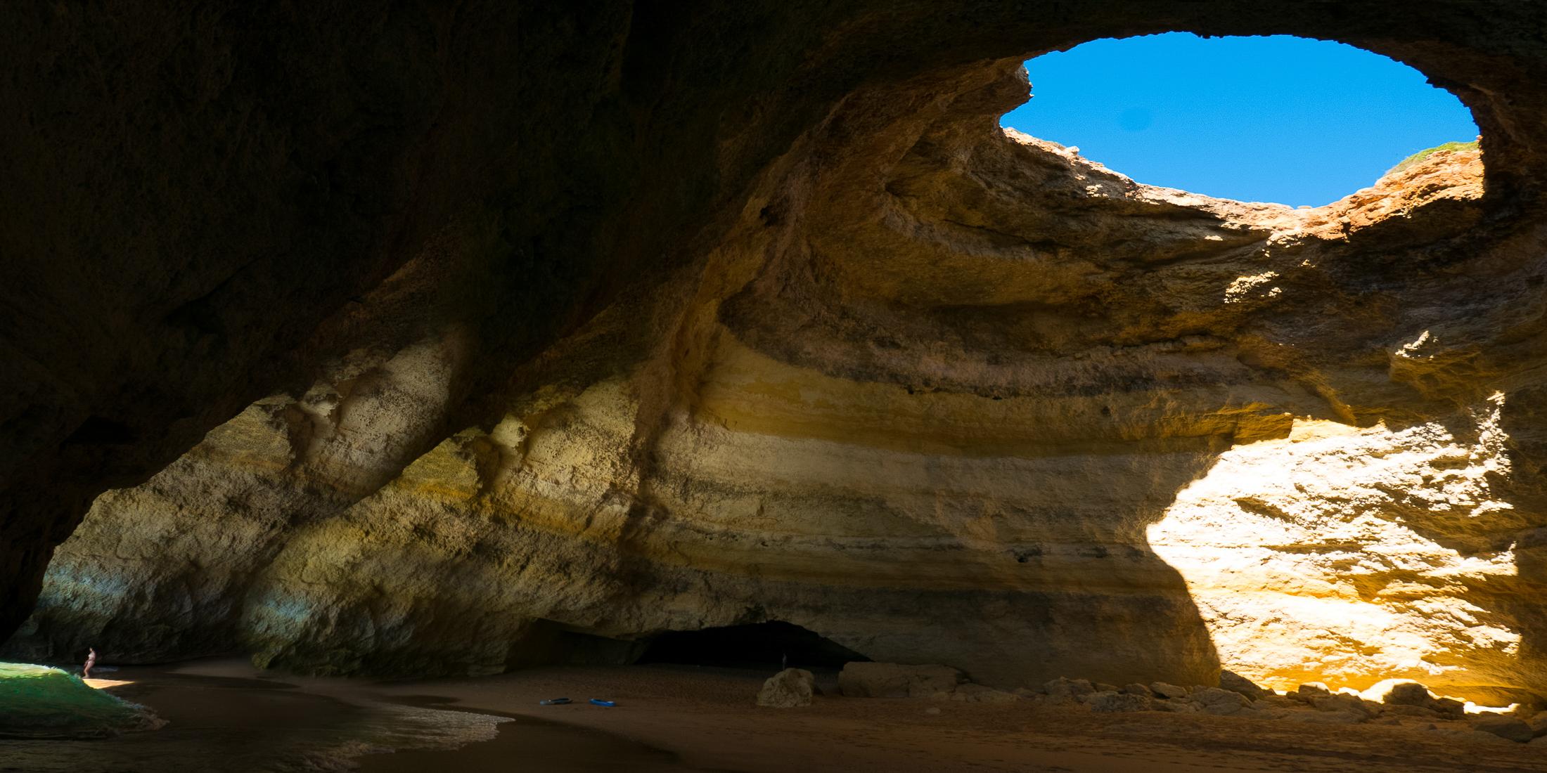 Photo workshops in Lisbon and the Algarve- Algarve: inside Benagil sea cave