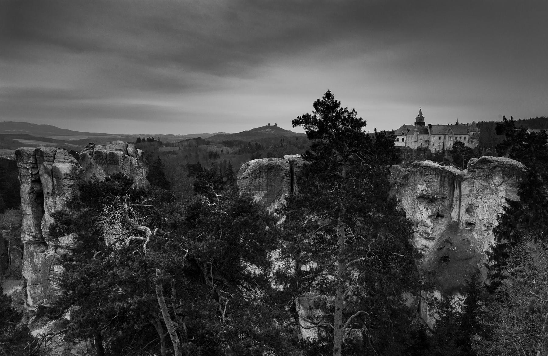 Winter photo workshop in Bohemia. Hruba Skala
