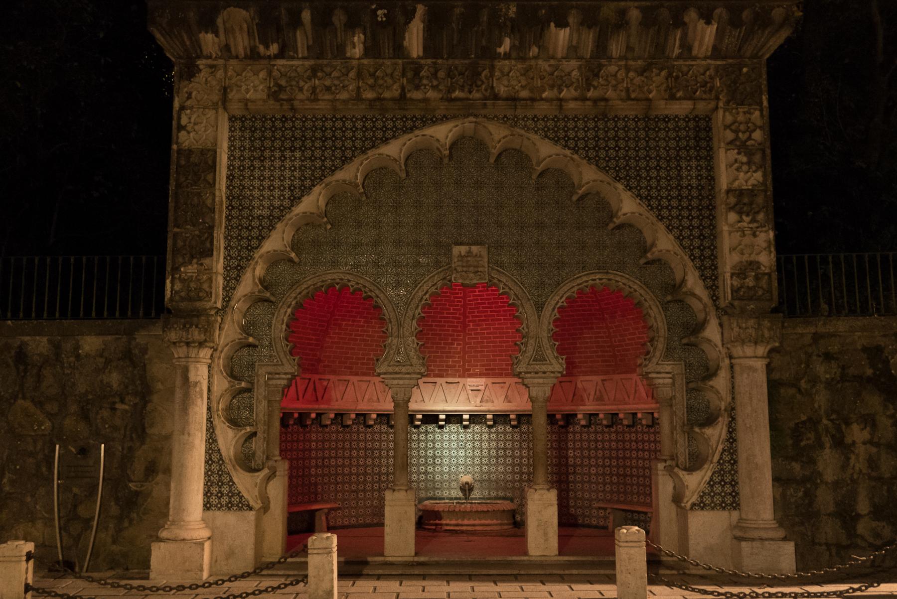 Photo workshops in Lisbon and the Algarve- Sintra, Arabesque pavilion
