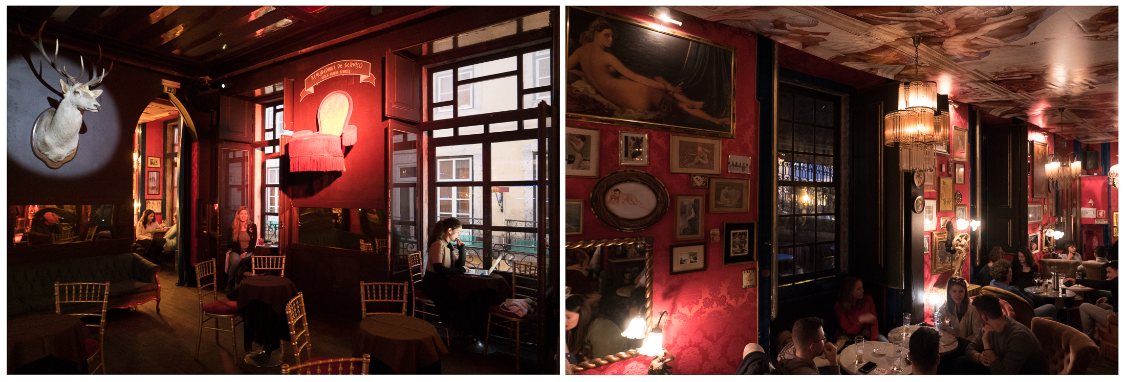 Photo workshops in Lisbon and the Algarve- The charming, and sexy, Pensao Amor Cafè, Lisbon