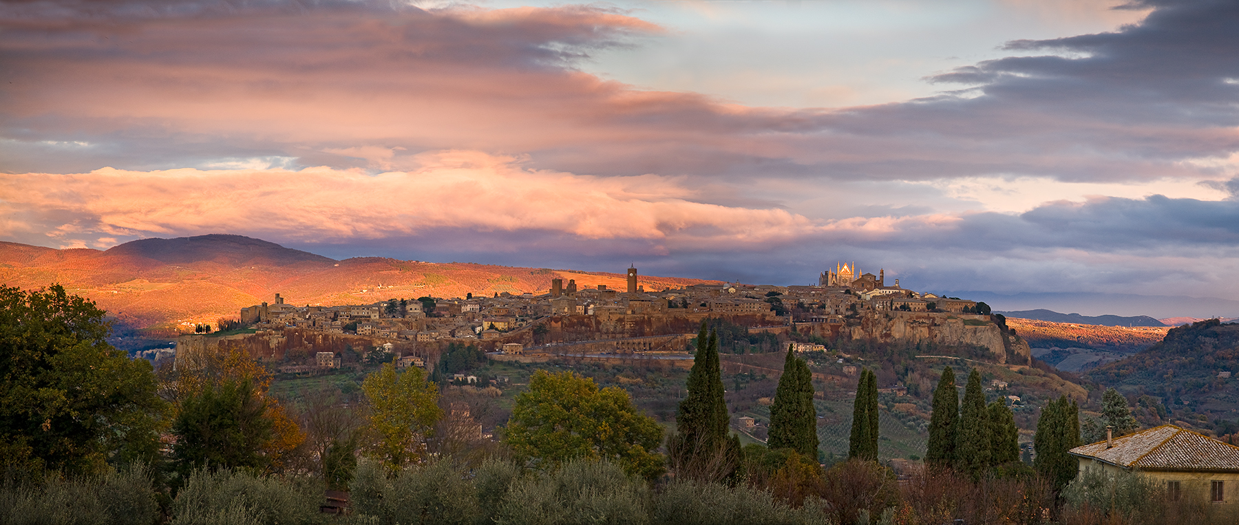 Orvieto sunset