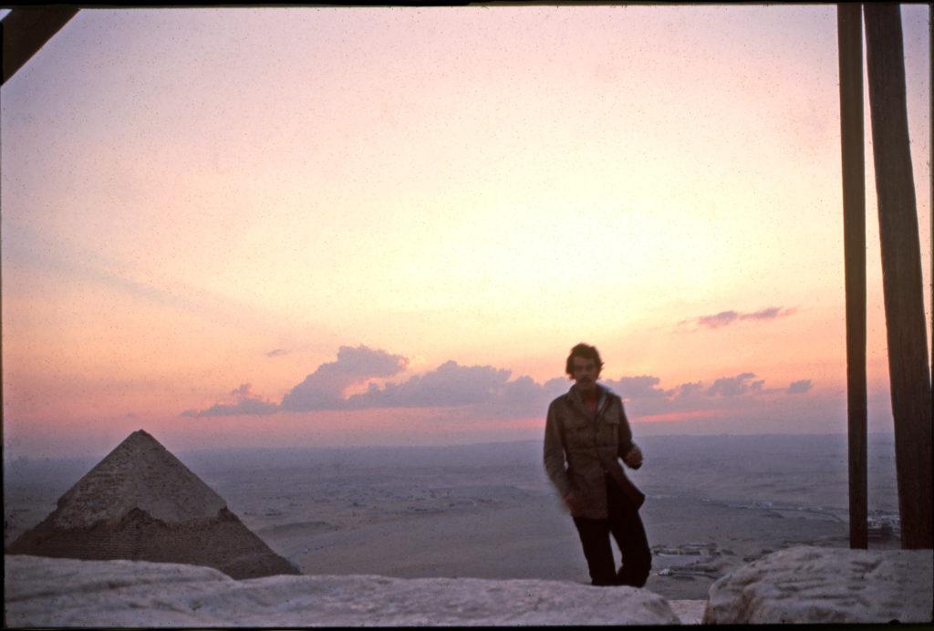 nicholas on Cheops summit